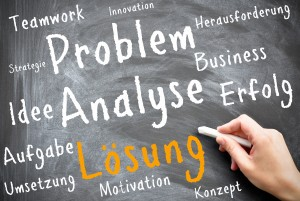 Problem - Analyse - Lösung